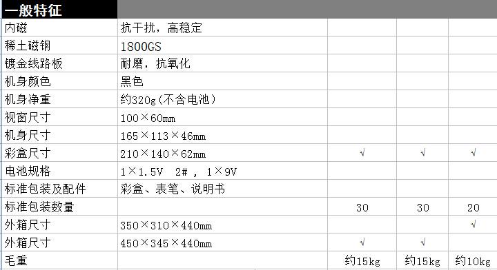 mf47标准型 - 南京天宇电子仪表厂